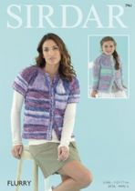 Sirdar Flurry - 7961 Cardigans Knitting Pattern